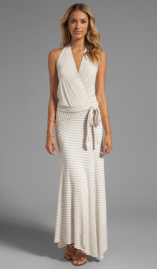 Gabi Stripe Maxi Dress