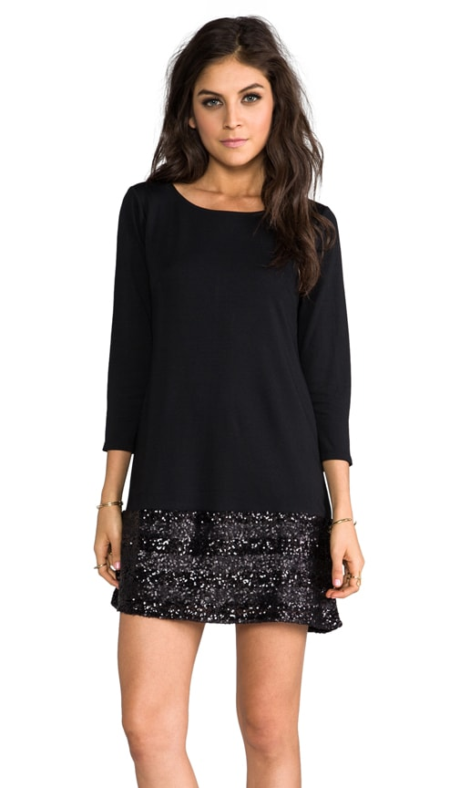 Anita Sequin Hem Tunic Dress