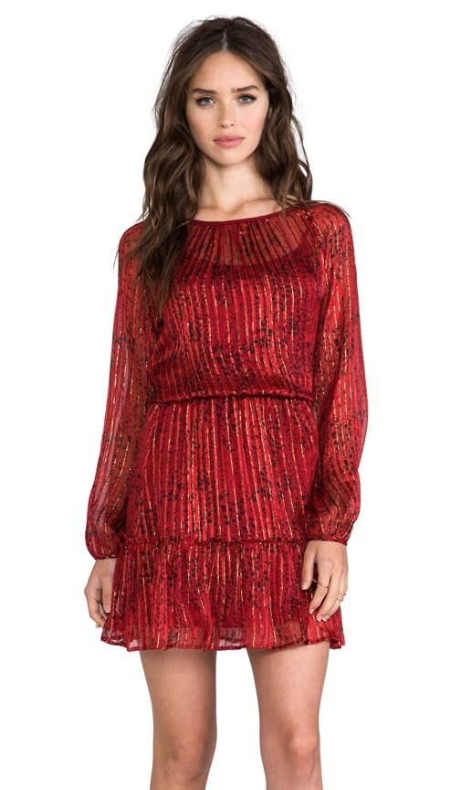 Lynx Long Sleeve Dress