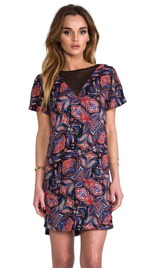 Lora Print Dress