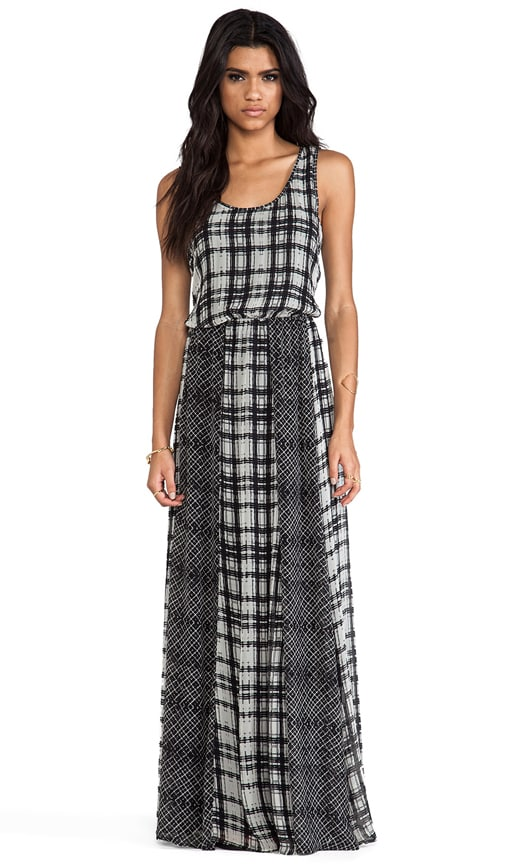 Paige Plaid Maxi Dress