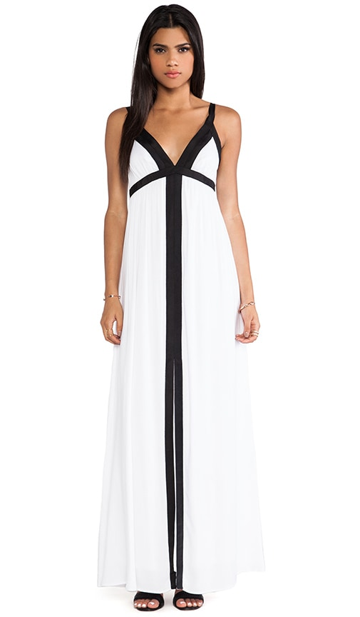 Stella Color Block Maxi Dress