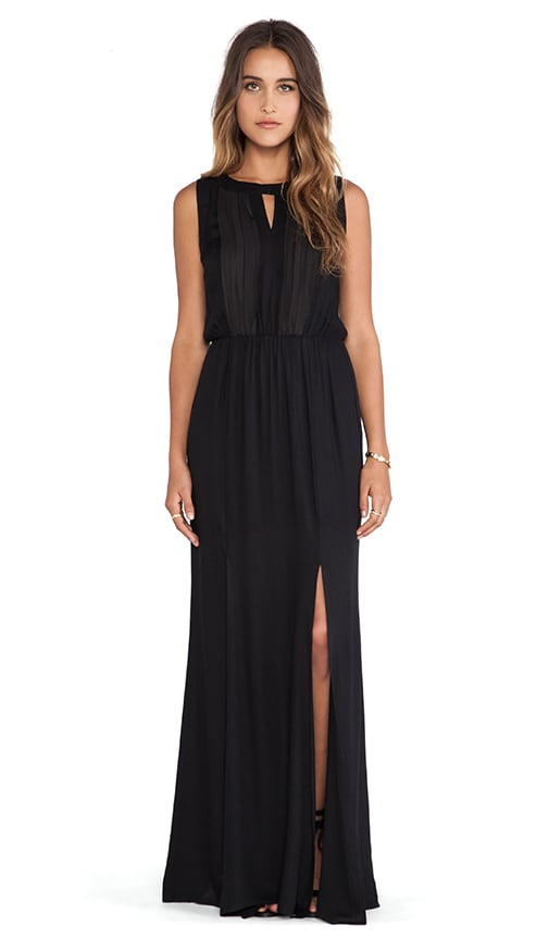 Ella Moss Stella Maxi Dress in Black