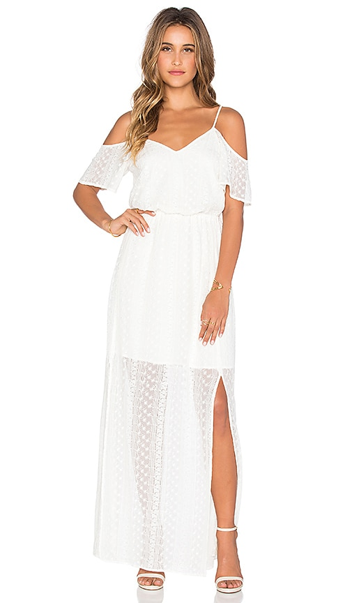 Ella Moss Pixie Maxi Dress in Ivory
