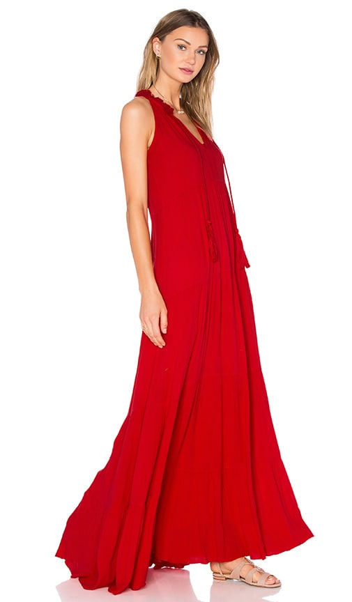 Ella Moss Miko Maxi Dress in Red