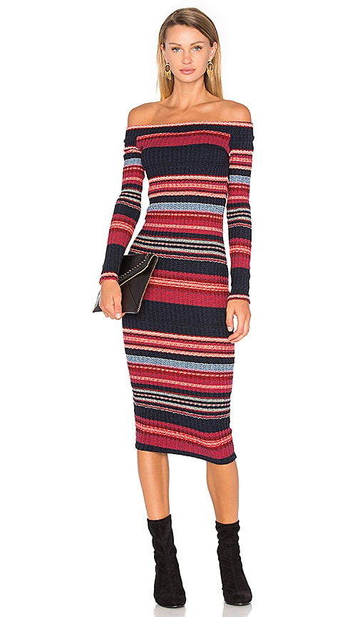 Ella Moss Laurence Sweater Dress in Navy