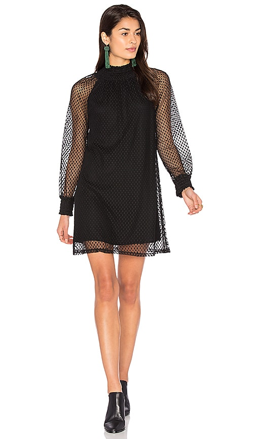 Ella Moss Nikkita Shift Dress in Black