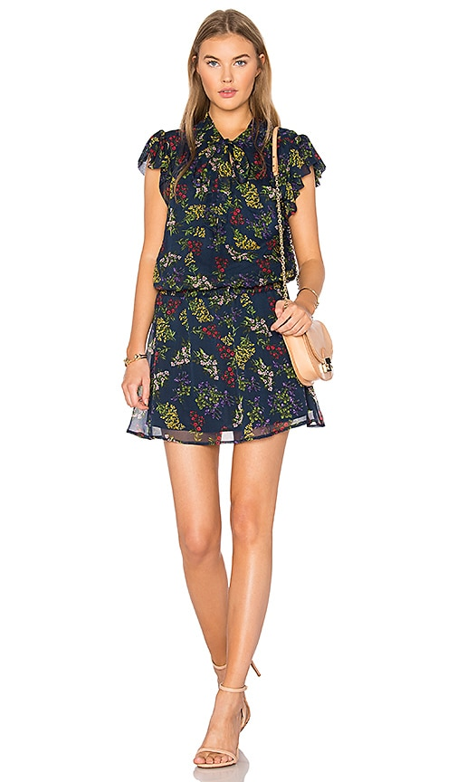 Ella Moss Poetic Garden Dress in Navy