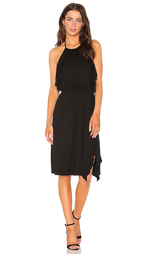Ella Moss Halter Dress in Black