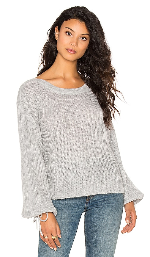 Ella Moss Lesya Sweater in Light Gray
