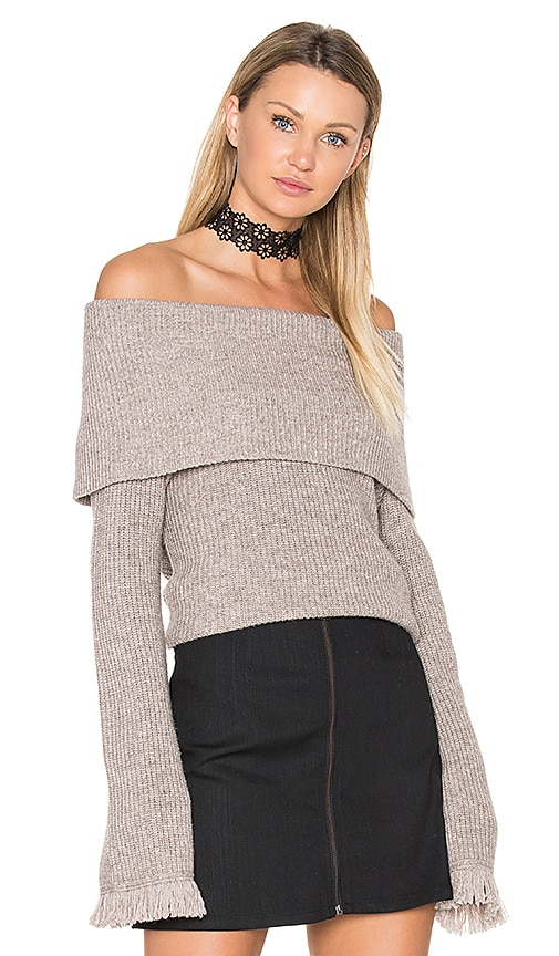 Ella Moss Avila Sweater in Taupe
