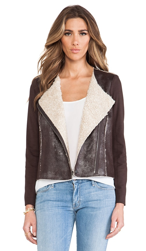 Riley Jacket with Faux Shearling