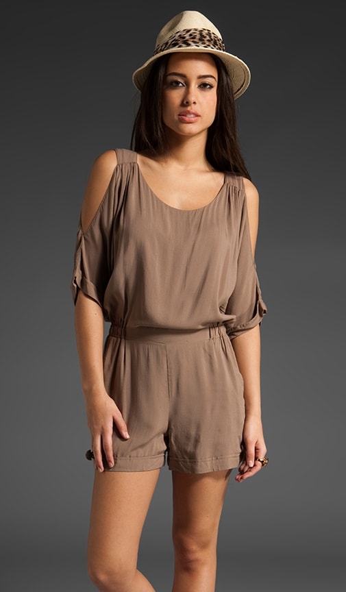 Dawn Cold Shoulder Romper