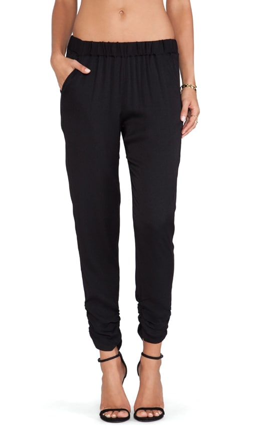 Ivana Ruched Ankle Pants