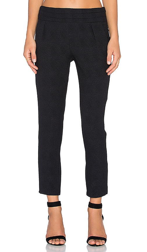 Ella Moss Serena Pant in Black