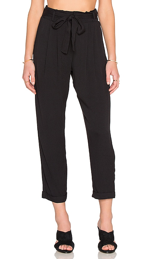 Ella Moss Stella Pant in Black