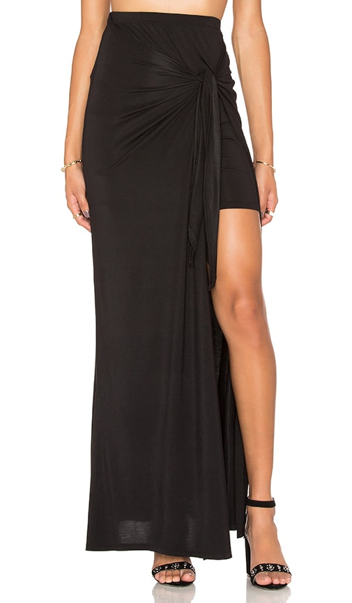 Ella Moss Bella Maxi Skirt in Black