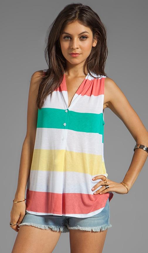Aloha Stripe Top