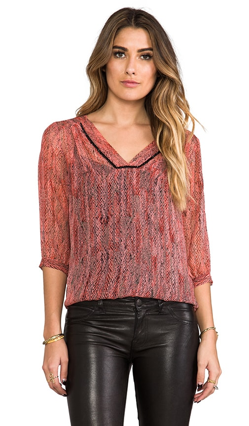 Hailey V Neck Blouse