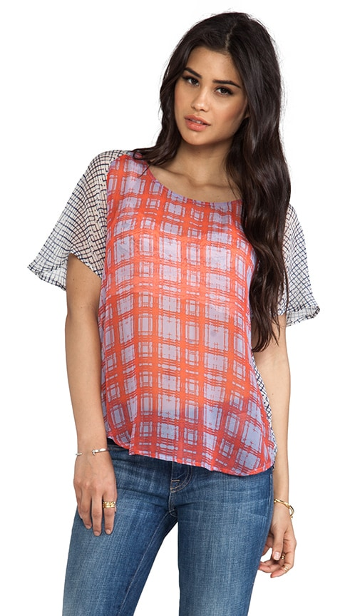 Paige Plaid Tee