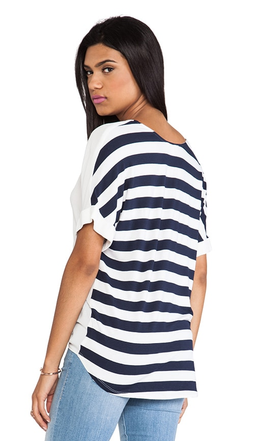 Isla Stripe Back Tee