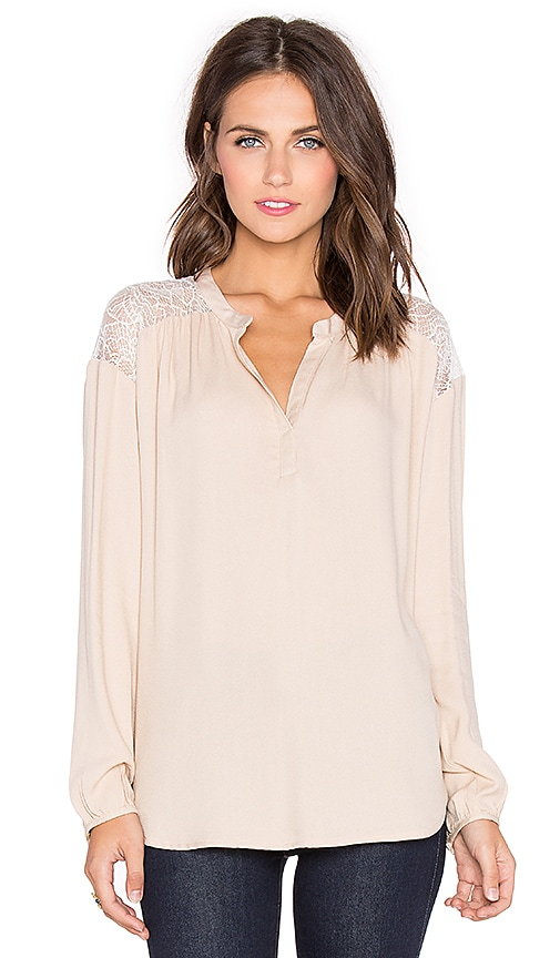 Ella Moss Amara Top in Blush