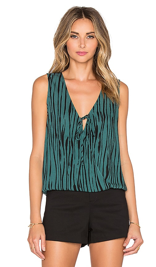 Ella Moss Cypress Tank in Black