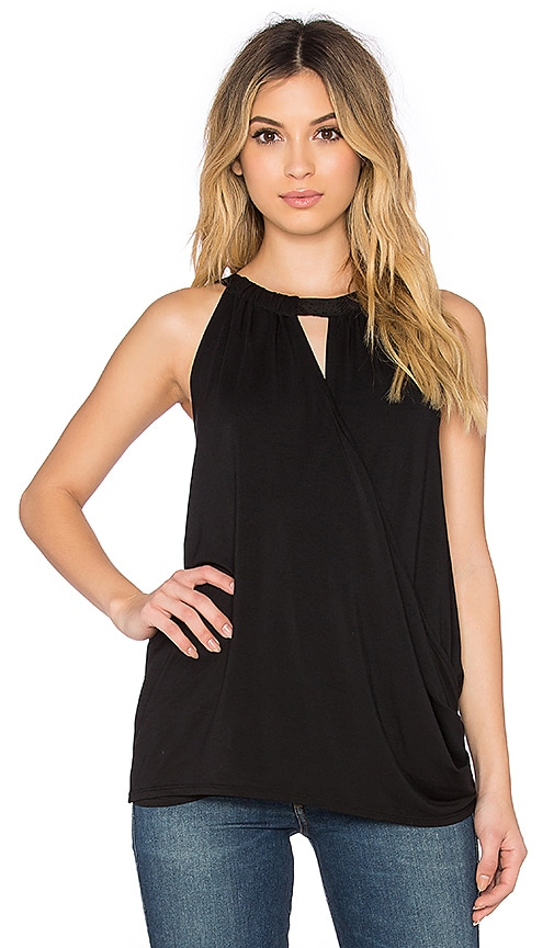 Ella Moss Bella Tank in Black