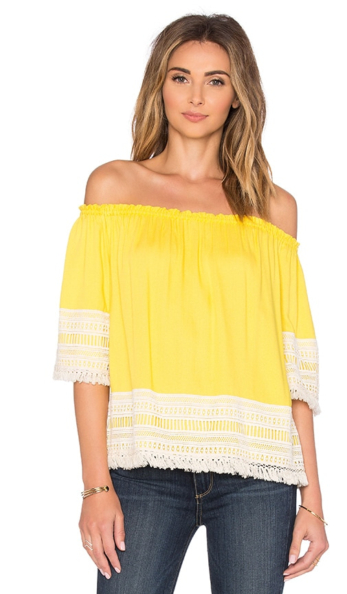 Ella Moss Lilita Top in Yellow