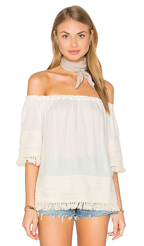 Ella Moss Lilita Top in White