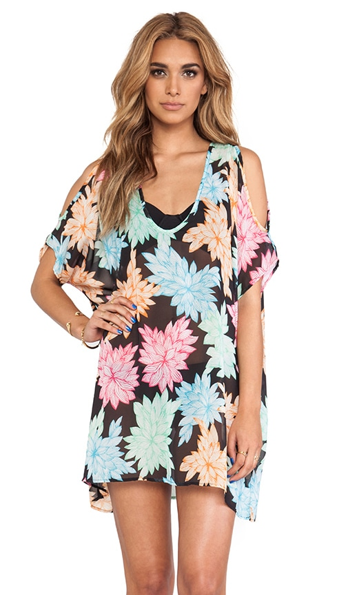 Belle Floral Tunic Cover Up