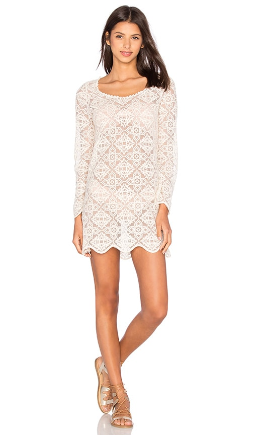 Ella Moss Tunic in Cream