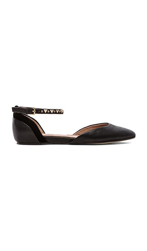 Savana Ankle Strap Flats