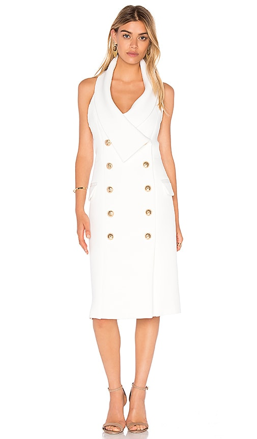 ELLIATT Breakthrough Dress in White