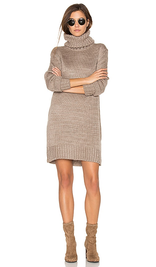ELLIATT Admire Knit Tunic in Taupe