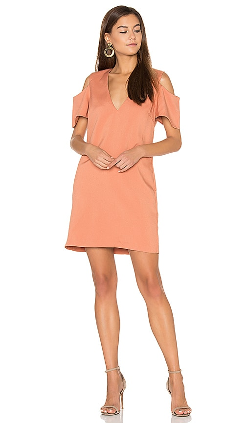 ELLIATT Beginning Shift Dress in Coral