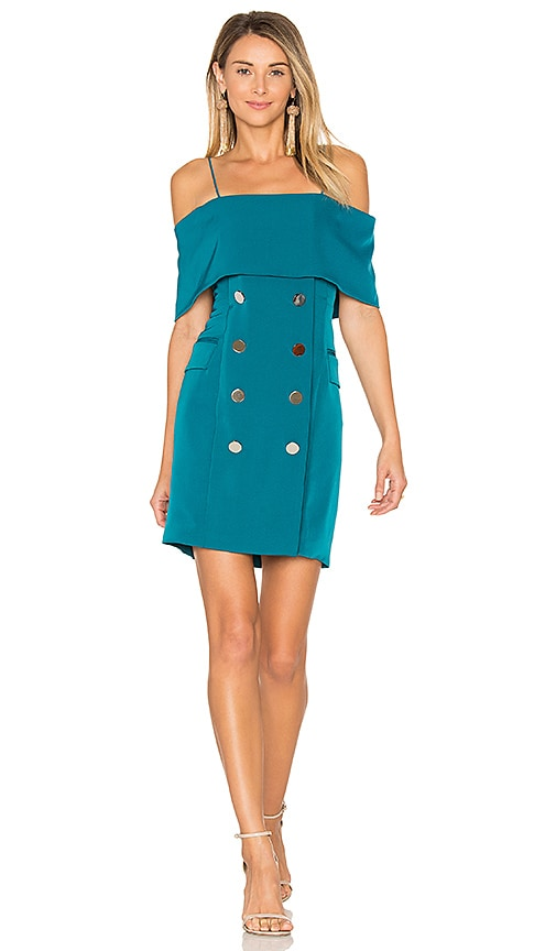 ELLIATT Beyond Dress in Teal