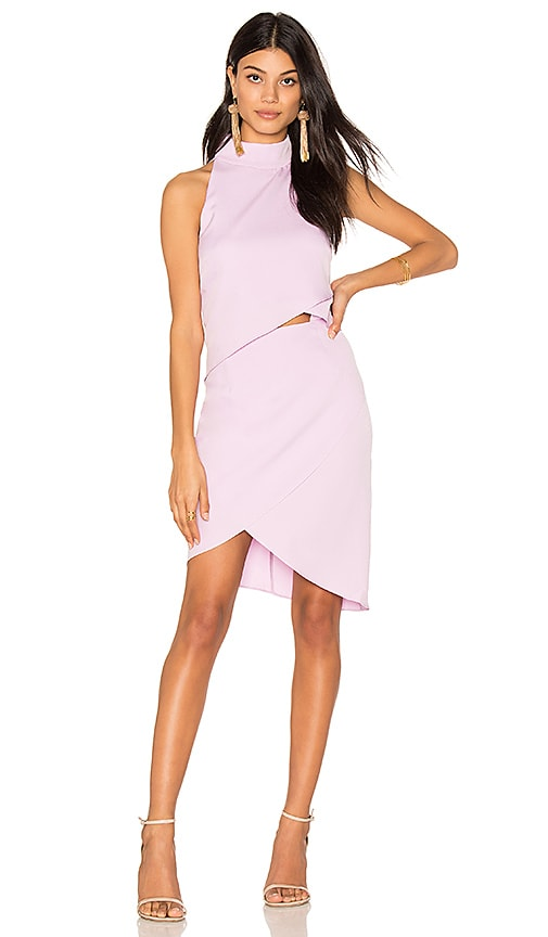 ELLIATT x REVOLVE Halter Tulip Dress in Lavender