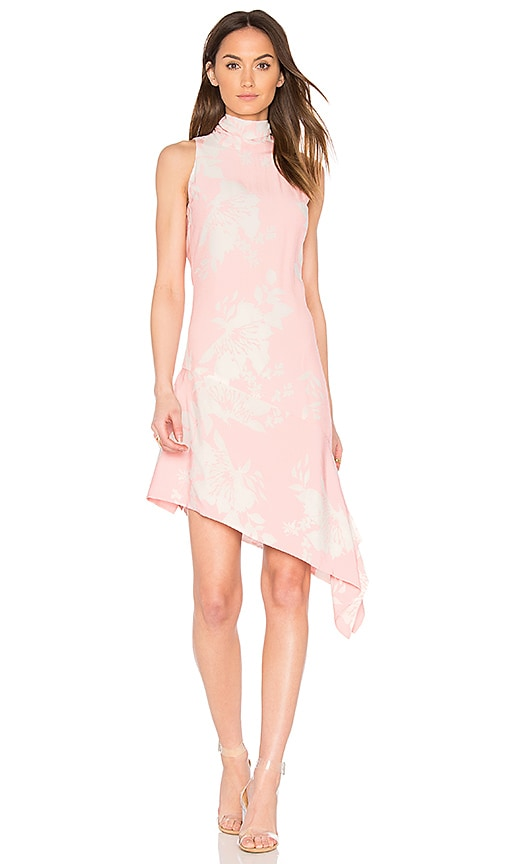 ELLIATT Enchanted Sleeveless Dress in Pink