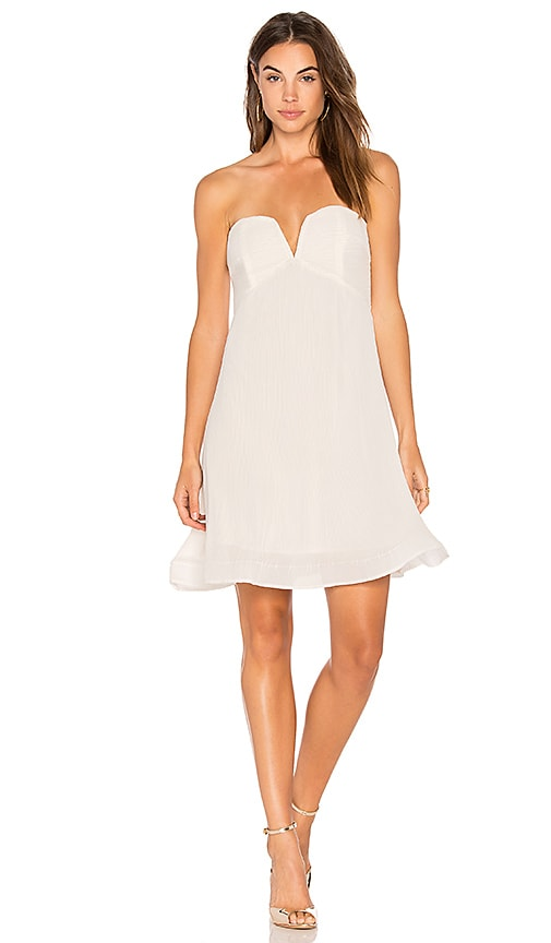 ELLIATT Visage Dress in White