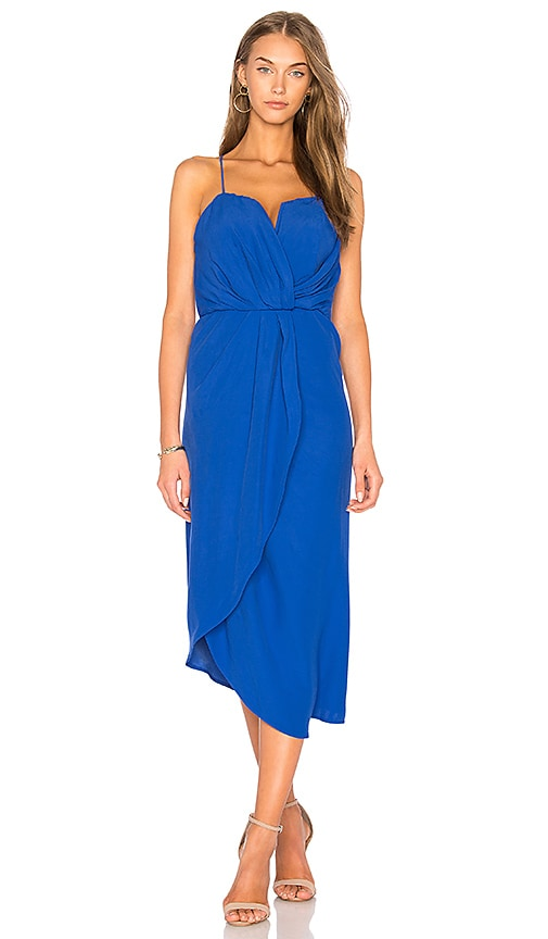 ELLIATT Envision Midi Dress in Blue