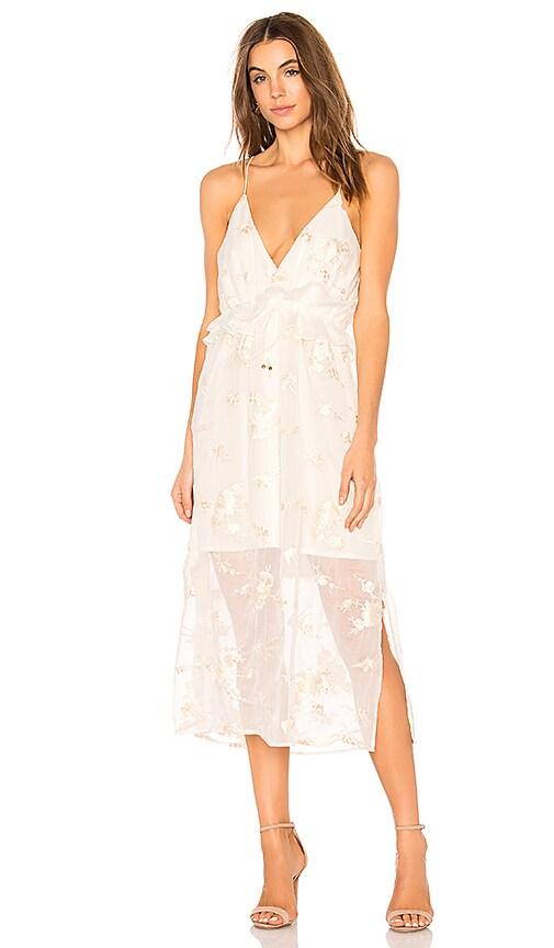 ELLIATT Concert Dress in White