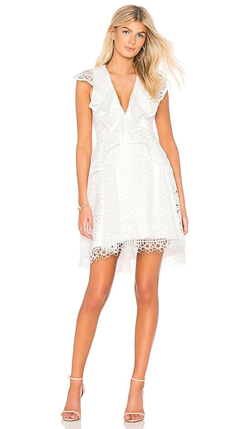 Interlude Dress in White. - size S (also in L,M,XS) Elliatt