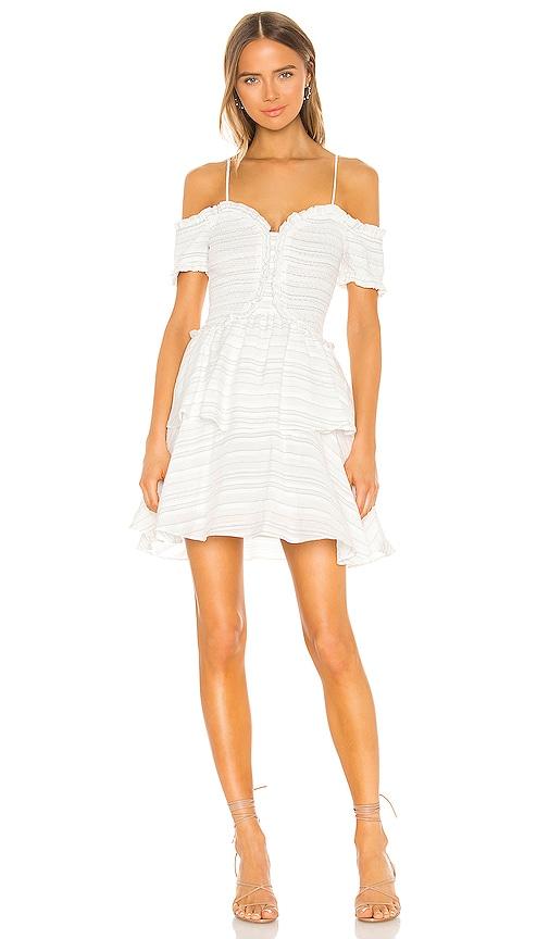 ELLIATT Lavinia Dress in White | REVOLVE