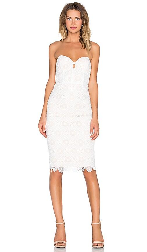 ELLIATT Star Dress in Ivory and Nude