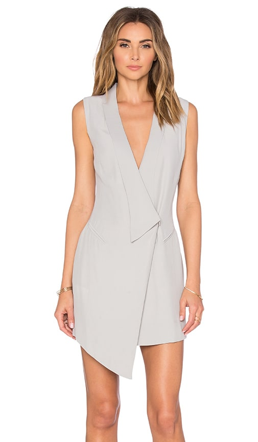 ELLIATT Moonstone Vest Dress in Gray
