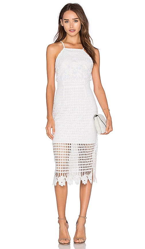 ELLIATT Platonic Dress in White