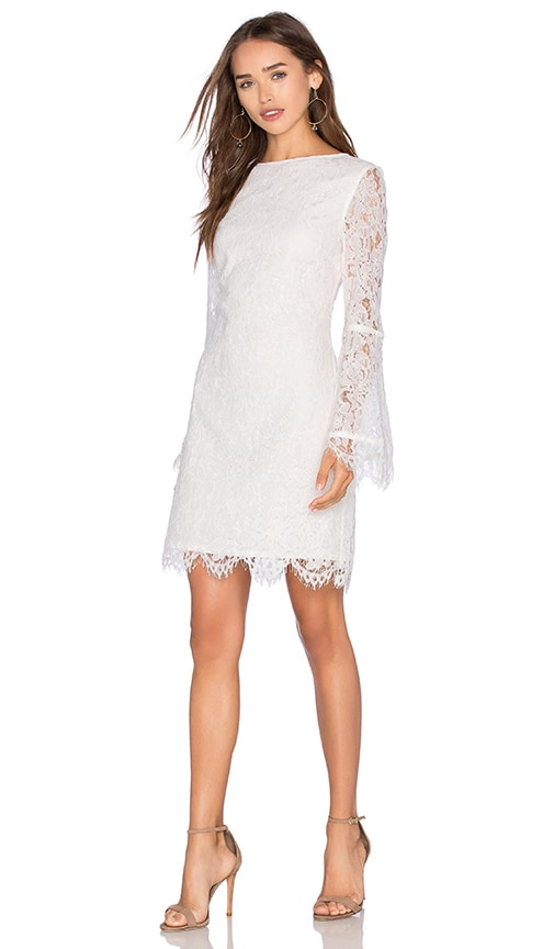 ELLIATT Lagoon Dress in White