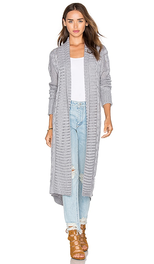 ELLIATT Anthropology Cardigan in Gray