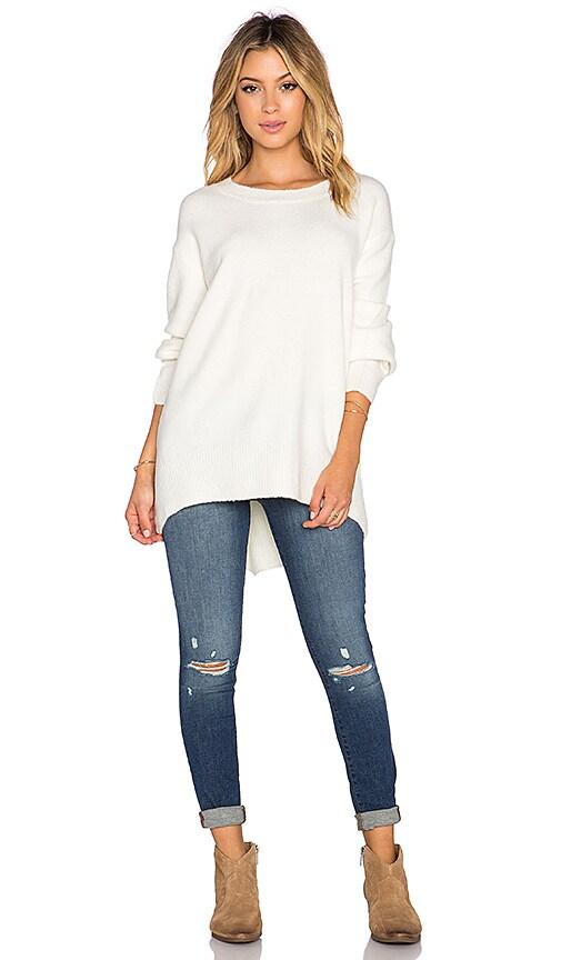 ELLIATT Depiction Sweater in White